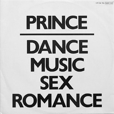 "Prince Dance Music Sex Romance Promo12"""" Singl"