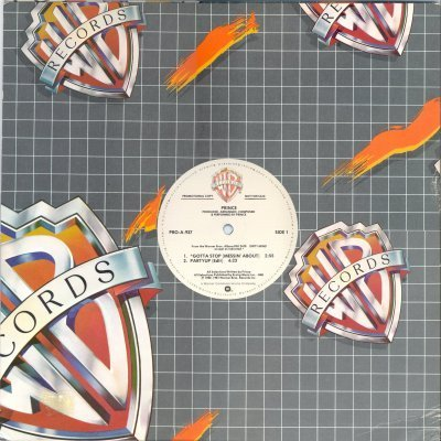 "Prince Gotta Stop (Messin' About) Promo12"""" Si"