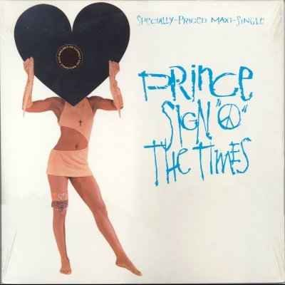 "Prince Sign 'o' The Times 12"""" Single"