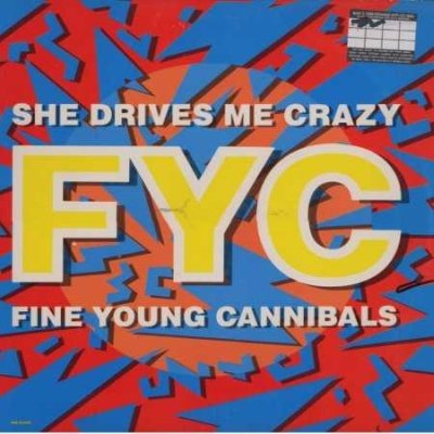 Fine Young Cannibals She Drives Me Crazy 12""""