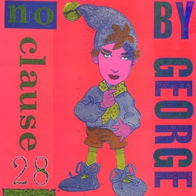 "Boy George No Clause 28 12"""" Single"