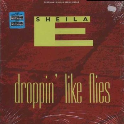 "Sheila E Droppin' Like Flies 12"""" Single"