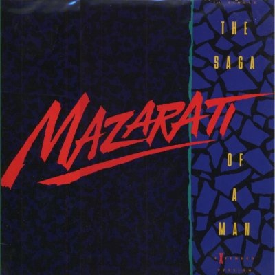 "Mazarati The Saga Of A Man 12"""" Single"