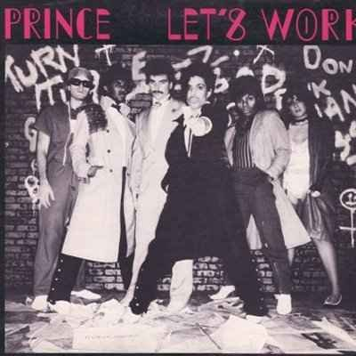 "Prince Let's Work 12"""" Single"