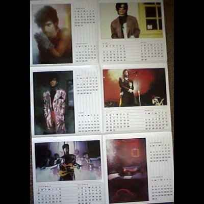 "Prince Little Red Corvette + Calender 12"""" Sin"