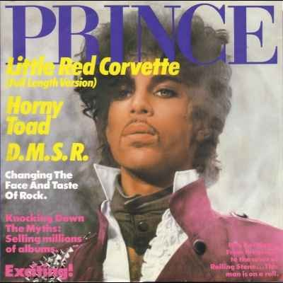 "Prince Little Red Corvette 12"""" Single"