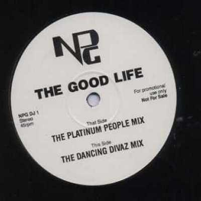 "NPG The Good Life Promo12"""" Single"