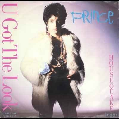 "Prince U Got The Look 12"""" Single"
