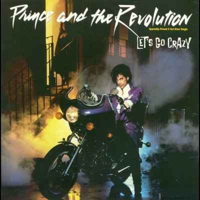 """Prince and The Revolution Let's Go Crazy 12"""""""""""