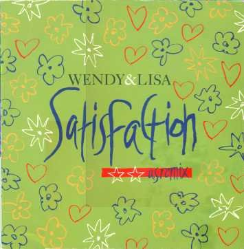 "Wendy & Lisa Satisfaction - U.S. Remix 12"""" Si"