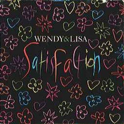 "Wendy & Lisa Satisfaction + poster 12"""" Single"