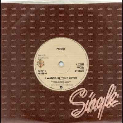 """Prince I Wanna Be Your Lover 12"""""""" Single"""