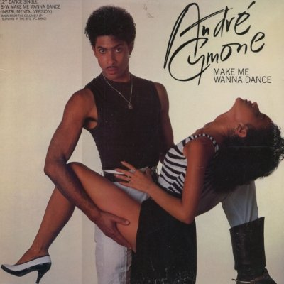"Andre Cymone Make Me Wanna Dance 12"""" Single"
