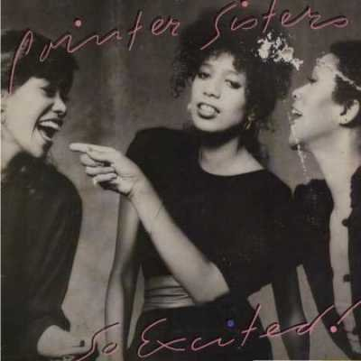 Pointer Sisters So Excited LP