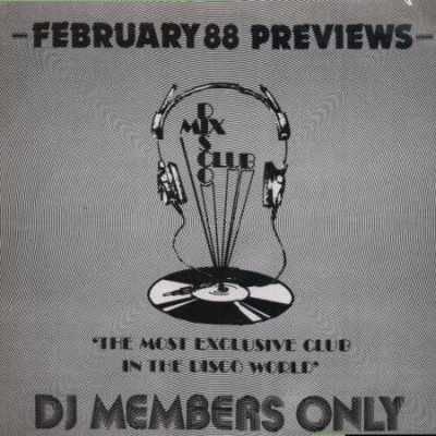 Various DMC February 88 LP