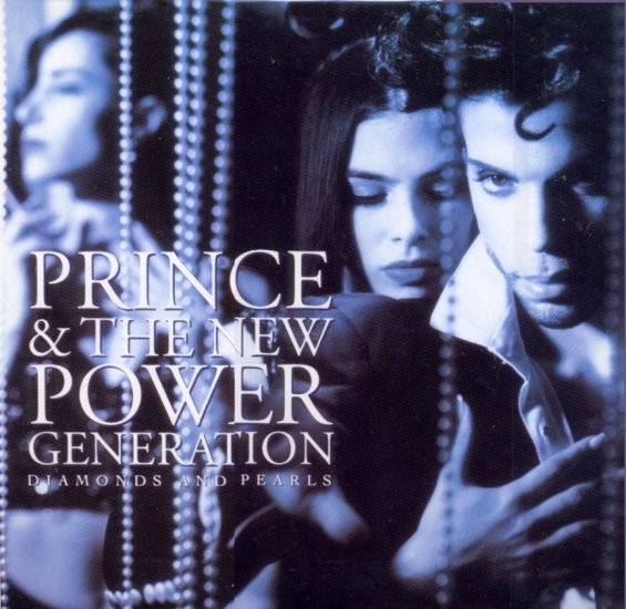 Prince and The N.P.G. Diamonds & Pearls LP