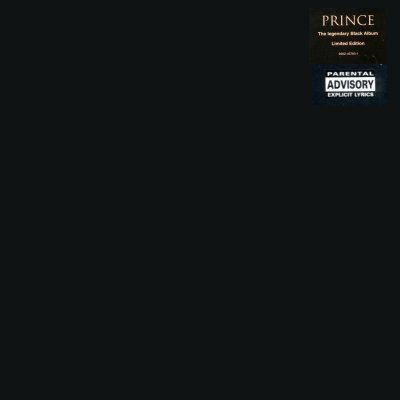 Prince The Black Album LP