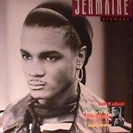 Jermaine Stewart Say It Again LP