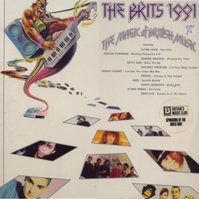 Various The Brits 1991 DBL LP