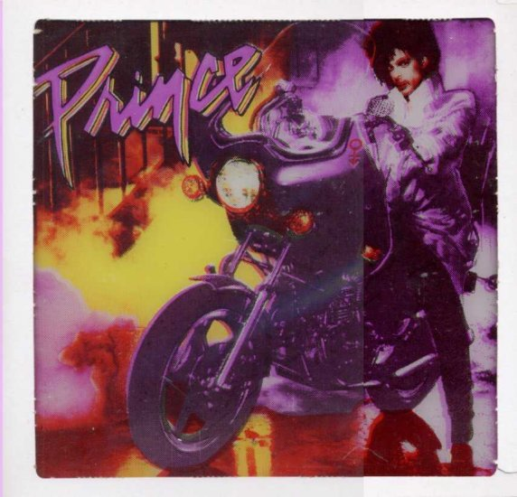 Prince Purple Rain / Glass Memorabilia
