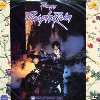 Prince & The Revolution Purple Rain Laser Dis