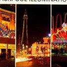 BLACKPOOL Illuminations Postcard  1974     E.T. Dennis & Sons