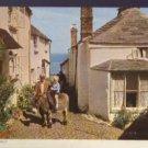 A Corner of  CLOVELLY Devon Postcards Jarrold & Sons RP