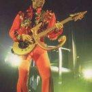 PRINCE - Gold Guitar Symbol Postcard