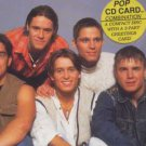 Take That In Conversation - Rare Interview With 3 part greetings card