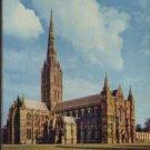 Salisbury Cathedral Postcard  Arthur Dixon 1969