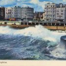 Rough Sea At Brighton Postcard  ELGATE