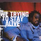 Wyclef Jean feat Refugee Allstars - We Trying To Stay Alive - UK CD Single