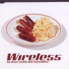 Wireless - In Love With The Familiar - UK Promo  CD Single