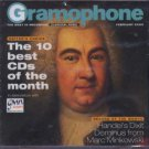 Various Artists - Gramophone  The 10 Best CDs Of The Month - UK  CD