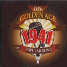 Various - The Golden Age Of Popular Song 1941 - UK  CD