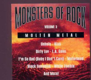 Various - Monsters Of Rock Volume 3 - USA  CD