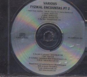 Various - Fyzikal Encountas Pt 2 - EU Promo  CD