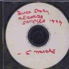 Variious - Black Story Record Sampler - UK Promo  CD Single