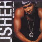 Usher - Pop Ya Collar - UK  CD Single