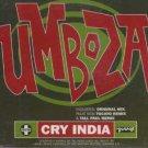 Umboza - Cry India - UK  CD Single