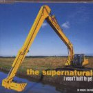 The Supernaturals - I Wasn't Buit To Get Up - UK  CD Single