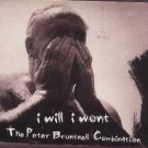 The Peter Bruntnell Combianation - I Will I Won't - UK  CD Single
