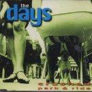 The Days - Crushed / Park & Ride - UK  CD Single