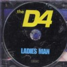 The D4 - Ladies Man - UK Promo CD Single