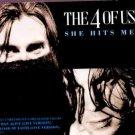 The 4 Of Us - She Hits Me - UK  CD Single