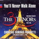 The 3 Tenors - You'll Never Walk Alone - UK  CD Single