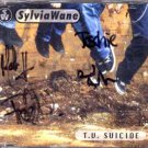 Sylvia Wane - T.V. Suicide - UK  CD Single