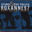 Sting & The Police - Roxanne 97 - UK  CD Single
