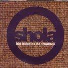 Shola - Big Bubbles No Troubles - UK  CD Single