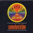 Shaydze Ov Colour - Somewhere In Time - UK  CD Single